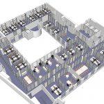 Plans mobilier bureau Paris