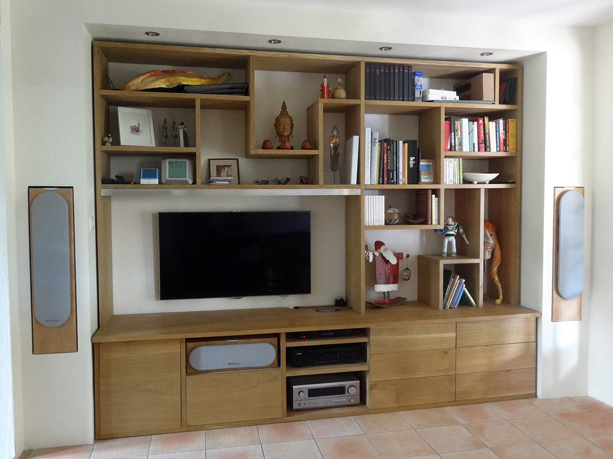 Meuble T V Id Linea Architecte D Int Rieur Al S # Meuble Tv Architecte